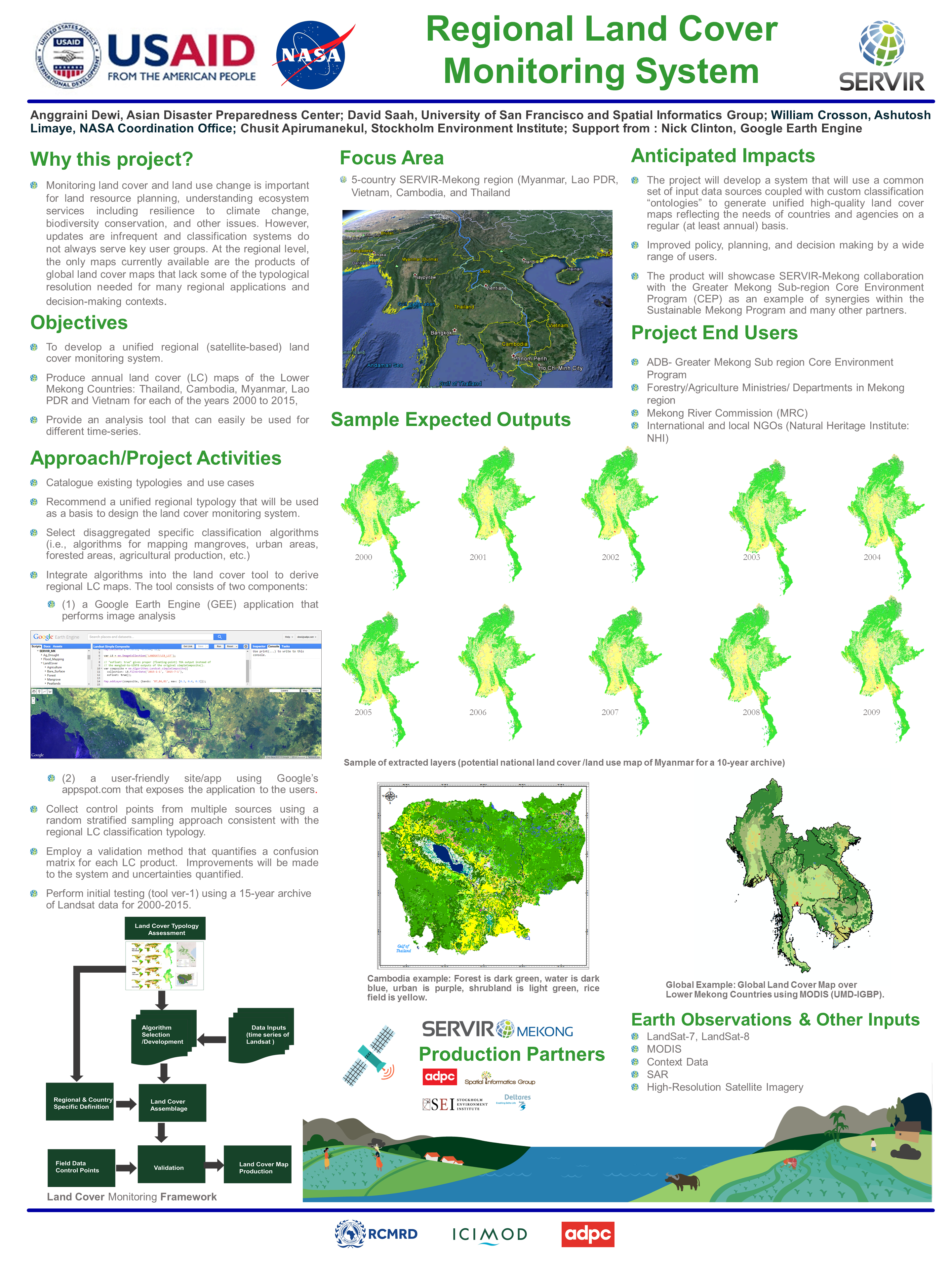 Regional Land Cover Monitoring System