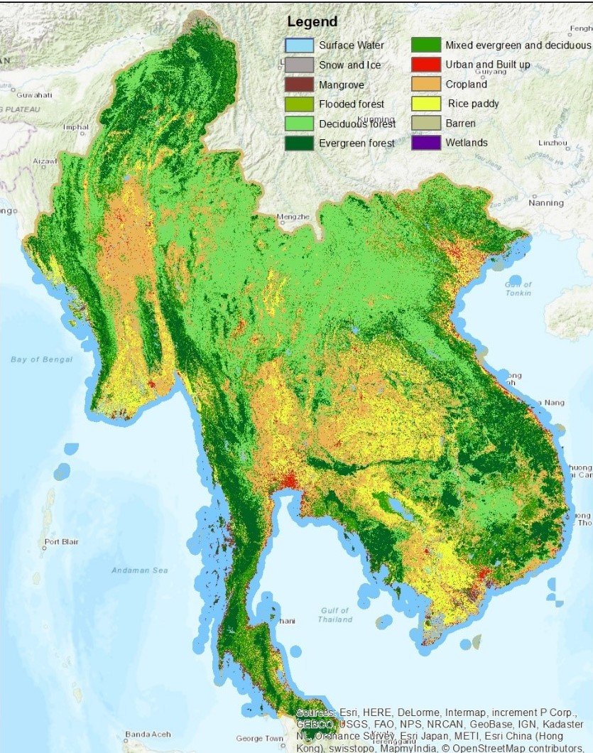 land cover map