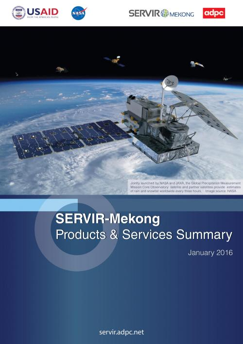 SERVIR-Mekong Product and Services Summary