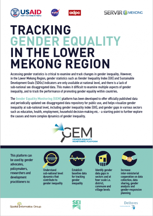 Tracking Gender Equality in the Mekong Region