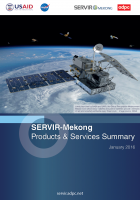SERVIR-Mekong Products and Services Summary